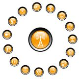 trådlösa symboler Royaltyfria Foton