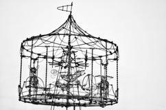 Trådleksak Arkivbild