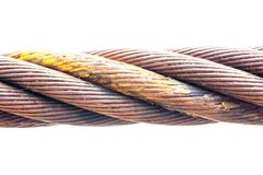 Trådrep som göras av stål Royaltyfri Foto