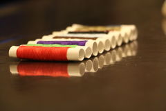 Trådrulle och reflexion Royaltyfri Bild