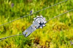 Trådspänningsmaskinvara Royaltyfri Bild