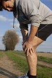 trång löpare Fotografering för Bildbyråer
