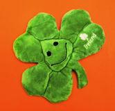 Trèfle irlandais Image libre de droits
