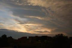 Très haut dans le ciel image libre de droits