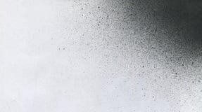 TRÈS résolution de TAILLE Papier peint avec l'effet d'aerographe Texture noire de course de peinture acrylique sur le livre blanc Photo libre de droits