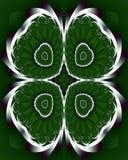 Trébol del fractal Fotos de archivo