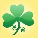 Trébol del St Patrick Fotos de archivo libres de regalías
