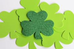 Tréboles del día de St Patrick Fotos de archivo libres de regalías