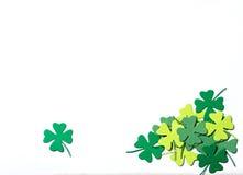 Tréboles del día del St Patrick ilustración del vector