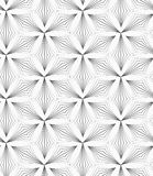 Tréboles puntiagudos rayados grises Imagen de archivo