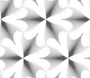 Tréboles puntiagudos tramados gris delgado Fotos de archivo