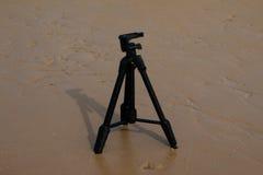 Trépied d'appareil-photo Photographie stock libre de droits