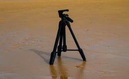 Trépied d'appareil-photo Photographie stock