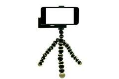 Trépied de poulpe avec le téléphone 1 photographie stock
