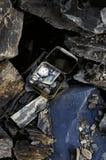 Trésor dans les roches Photo libre de droits