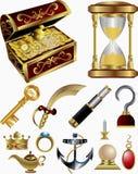 trésor de conte de fées d'éléments