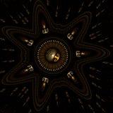 Trésor de l'étoile photos stock