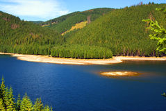 Trésor du lac argenté Photo stock