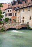 Trévise, ville Italie Images libres de droits