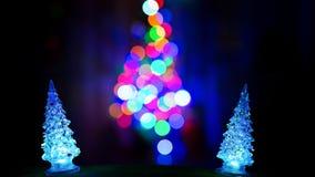 Três árvores de Natal Imagem de Stock Royalty Free