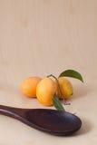 Ameixas marianas maduras Fotografia de Stock