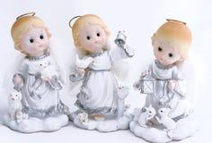 Três anjos Foto de Stock