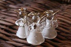 Três anjos brancos imagem de stock royalty free