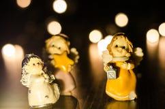 Três anjos pequenos Fotografia de Stock