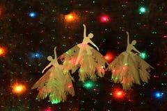 Três bailarinas Fotografia de Stock