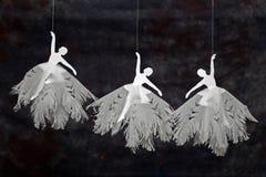 Três bailarinas fotos de stock royalty free