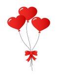 Três balões Foto de Stock