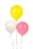 Três balões Fotografia de Stock Royalty Free