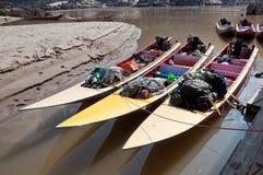 Três barcos da velocidade Fotografia de Stock Royalty Free
