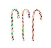 Três bastões de doces Foto de Stock