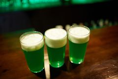 Três bebidas Foto de Stock Royalty Free