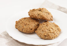 Três biscoitos Foto de Stock Royalty Free