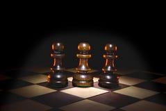 Três bogatyrs Imagens de Stock Royalty Free