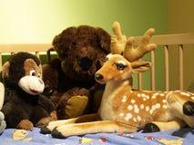 Três brinquedos Fotos de Stock Royalty Free