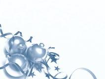 Três brinquedos do Natal Fotos de Stock Royalty Free