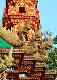 Três cabeças da serpente Fotografia de Stock