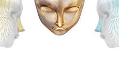 Três cabeças, melhoram do que uma Fotografia de Stock Royalty Free
