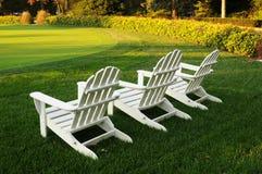 Três cadeiras Imagens de Stock Royalty Free