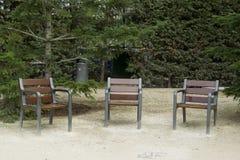 Três cadeiras Fotografia de Stock Royalty Free