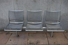 Três cadeiras Foto de Stock Royalty Free