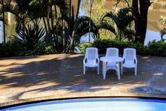 Três cadeiras Foto de Stock