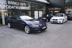 Três carros modernos Imagens de Stock