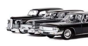 Três carros retros do brinquedo Imagens de Stock Royalty Free