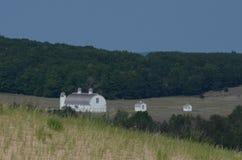 Três casas da quinta vistas do sono carregam o parque nacional do litoral imagem de stock royalty free