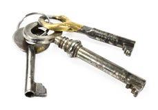 Três chaves Imagem de Stock Royalty Free