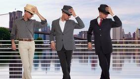 Três clone ou objetivas triplas em New York City Fotografia de Stock Royalty Free